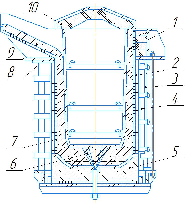 Пример оформления исполнительной геодезической схемы монтажного горизонта кирпичной кладки.