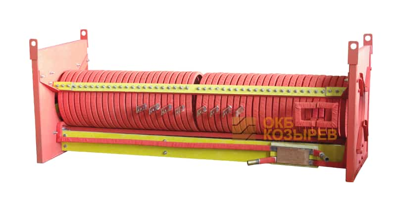 Индуктор для нагрева заготовок ОКБ Козырев