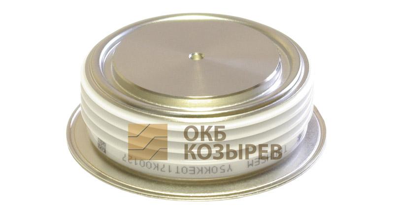 Тиристор быстродействующий КК1200А/1800V - ОКБ Козырев